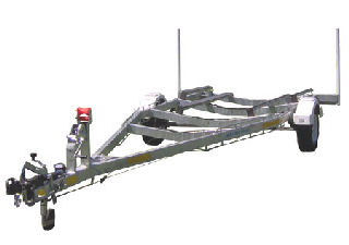 Types of Trailers boat trailer