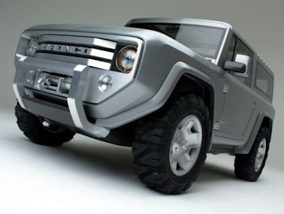 Ford Bronco   5 things you didnt know ford bronco concept