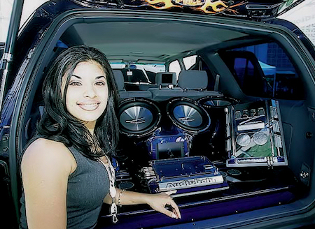 Toyota 4Runner   Evolution toyota 4runner girl sound system