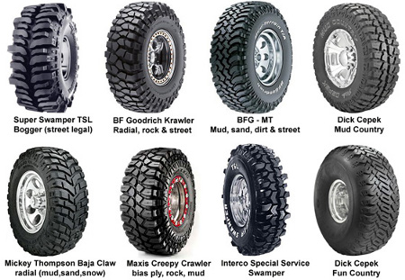 Best Off Road Snow Tires >> Buying Tires For Your 4 215 4 4x4 Trucks And Trailers