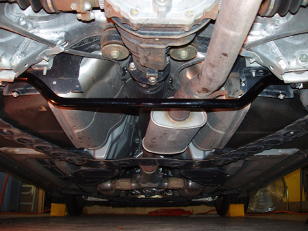 Tips on Rear Sway Bars rear sway bar installed