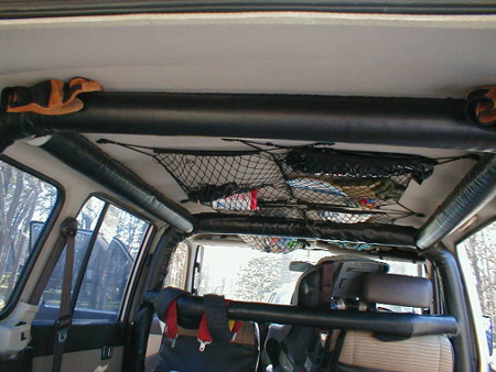 SUV Accessories cargo netting