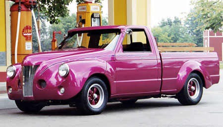 Pros and Cons of Pickup Trucks pink pickup truck