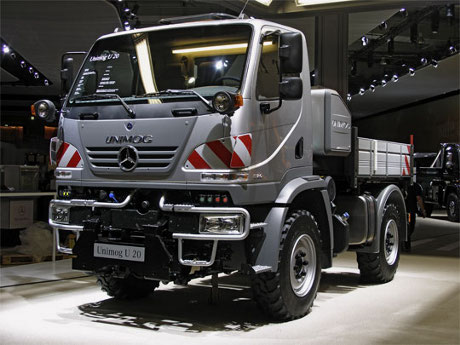Unimog Trucks: Getting The Most Out Of A Truck! unimog u20