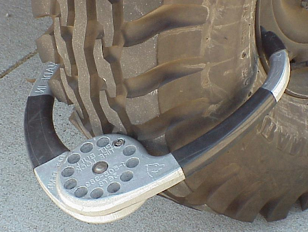 Theft Protection for Your Vehicle truck tire lock