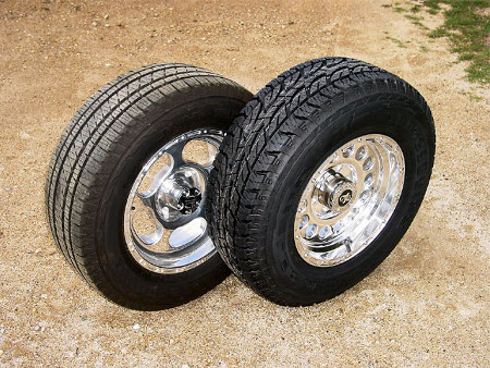 Replacing Tires on Your Truck truck tires