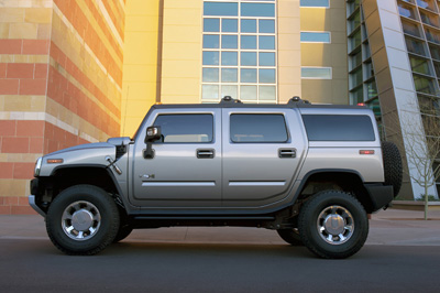 2 Big SUV's for the Family 2008 hummer h2