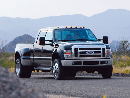 The Ford F 450 Super Duty Truck ford f450 front view