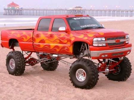 Jacked Up Trucks jacked up truck