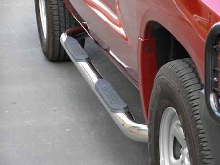 Truck Nerf Bars and Steps: Make Your Truck Look Great! truck nerf bars