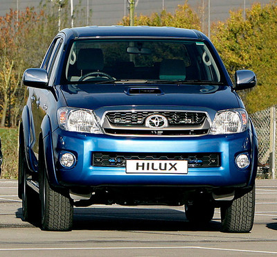 2010 Toyota Hilux gets updated 2010 Toyota Hilux 2