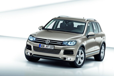 Exclusive options for 2011 VW Touareg 2011 Volkswagen Touareg