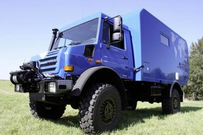 Unimog U4000 is the ultimate expedition camper! unimog u4000 1