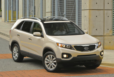 2011 Kia Sorento wins safety award from IIHS KiaSorento