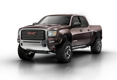 GMC Sierra HD Concept GMC Sierra All Terrain HD Concept 1
