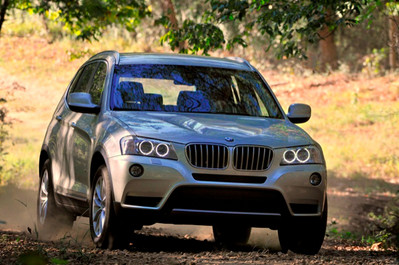 2011 Four Wheel Drive Car of the Year: BMW X3 BMW X3