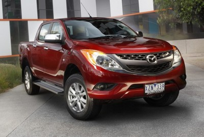 Mazda BT 50 Powertrains Announced Mazda bt50