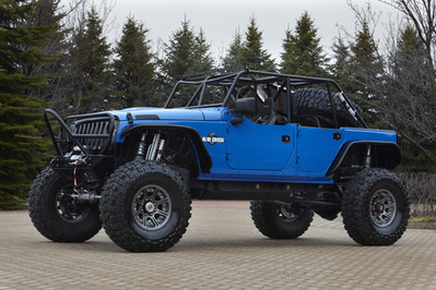 Jeep Wrangler Blue Crush Jeep Wrangler Blue Crush
