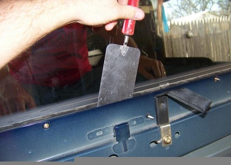 How to Repair Rear Truck Window Seal Repair Rear Truck Window Seal