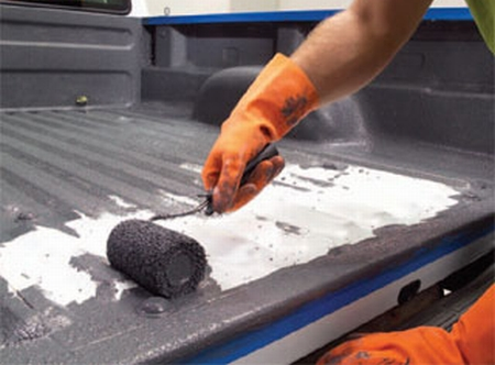 How to Repair Sprayed on Truck Bed Liner Repair Truck Bed Liner